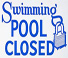 End of summer operation hours for pools
