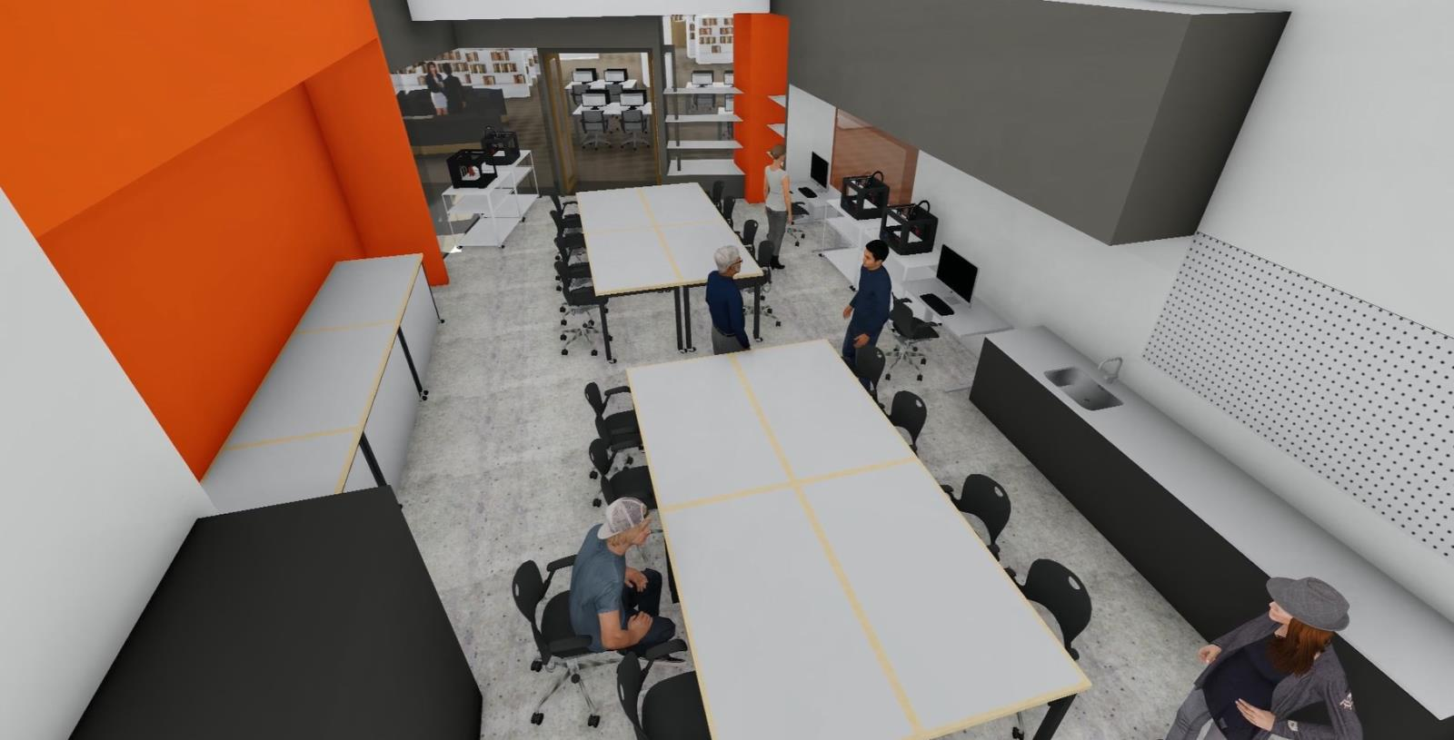 Makerspace interior 2