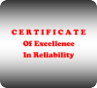Cert of Reliability