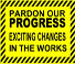 progress sign