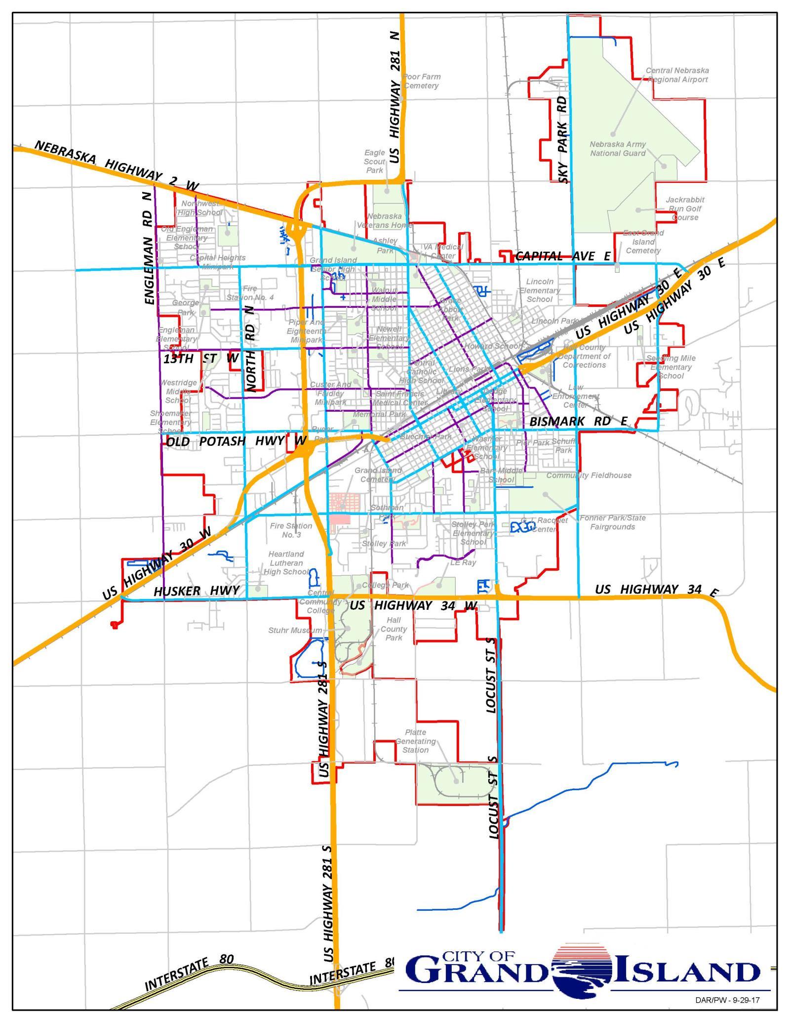Information Maps City Of Grand Island Ne
